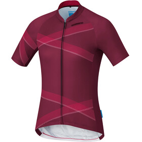 Shimano Team Jersey - Maillot manches courtes Femme - rouge